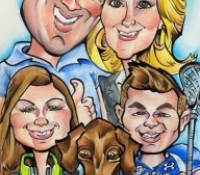 Get Your Family Caricatures Done In Denver
