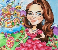 Get Your Sweet 16 Birthday Caricature in Denver