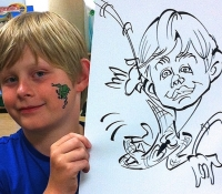spiderboy-caricature