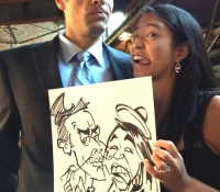 Wedding Caricature Drawing