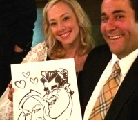 Caricature Drawing for Wedding