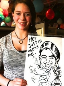 caricature drawing in Colorado