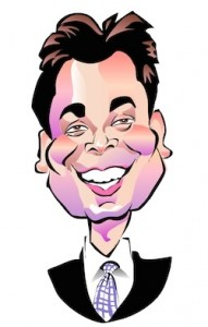 Jimmy Fallon Caricature