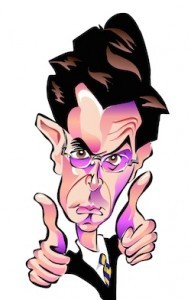 Stephen Colbert Caricature
