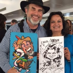 Why Hire a Caricature Artist for your Next Event